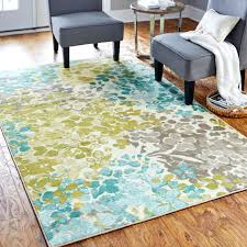 blue and green area rug radiance area rug blue green yellow rugs