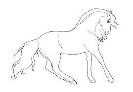 Paarden Kleurplaat Dieren Kleurplaat Animaatjesnl