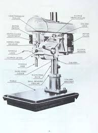 walker wiring diagram walker turner 1100 series 20 drill press operator s parts walker turner 1100 series 20 drill