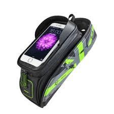 <b>RockBros Cycling Bicycle</b> Frame Bag <b>Touch Screen</b> Waterproof <b>Bike</b> ...