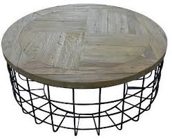 syracuse cocktail table metal base and