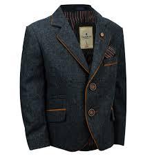 Boys Designer Blazer Details About Boys Kids Wool Mix Blazer Smart Designer Suede Trim Elbow Patch Suit Coat Jacket