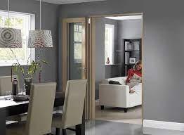 room divider bi fold doors