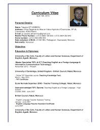 Curriculum Vitae April 15th, 2013Personal Details:Name: Yassine AIT  HAMMOUAddress: ...