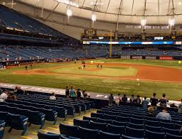 Rays Seating Chart Tropicana Field Section 118 Seat Views Seatgeek