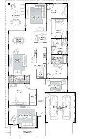 plans rectangular home plans basic house lovely ideas rectangle floor small kitchen simple 4 bedroom