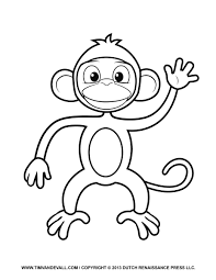 Small Picture Monkey Coloring Pages Monkey Coloring Pages Monkey Coloring Pages