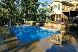 Backyard Swimming Pool Design Custom Decorating Design