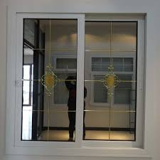 modern china plastic steel reinforced tinted glass door and window design china pvc sliding window philippines upvc sliding window
