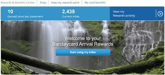 how to redeem barclaycard arrival miles