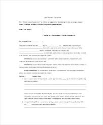 Owner Operator Lease Agreement Template Agreements Rental ...