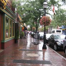 neighborhood essay  a rainy monday in downtown annapolis
