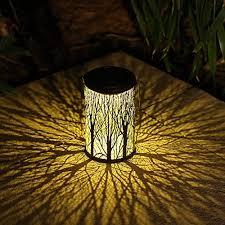 yjfwal solar lantern lights