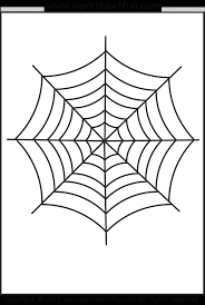 Small Picture Free Printable Spider Web Coloring Pages For Kids With itgodme