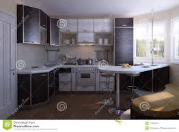 Nice Kitchen Designs Photo Nice Kitchen Design Stock Image Image Of Customized 11318497