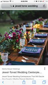 We are having a table with table runner - love these deep jewel tones |  October 2017 Winery Glam Styled Shoot | Pinterest | Glam style