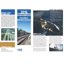 Maybe you would like to learn more about one of these? Asce S 2016 Florida Infrastructure Report Card Florida Board Of Professional Engineers