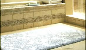 stylish bathroom rug runner long lovely bath from inch round extra r collection in cool delightful