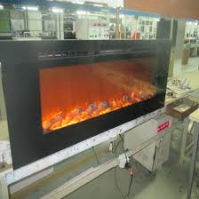 60 inch wall mounted embeded whole electric fireplaces