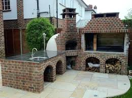 outdoor fireplace pizza oven diy combo plans