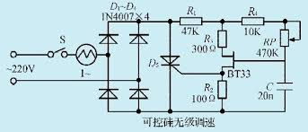 circuit diagram of exhaust fan motor