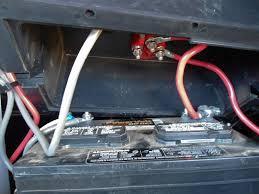 trojan 6 volt batteries rv install oem battery