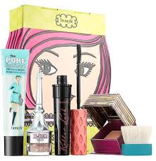 get a porefectly bronzed plexion flirty lashes and full on brows with this plete makeup set the roller lash curling lifting mascara offers