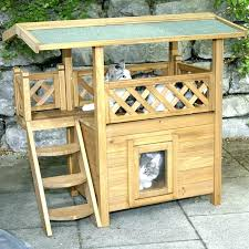 outdoor cat house small