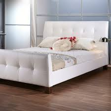 Baxton Studio Amara Platform Queen Size White Bed Including Breathtaking  Styles Average Cost Of A Bedroom