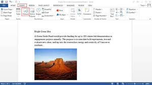 Edit A Picture In Word