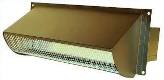 exterior kitchen exhaust vent cover. black powder coated rectangular range hood vent cover exterior kitchen exhaust t