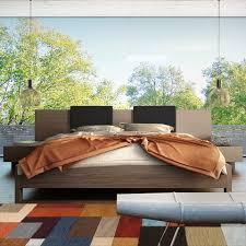 black or white furniture. Magdala Bed At Www.moderndigsfurniture.com, In Walnut Or Wenge With Black White Furniture