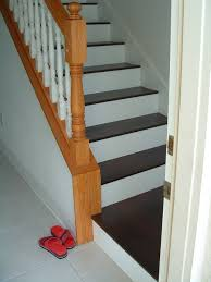 Lowes Mohawk Laminate Flooring Installed On Stairs