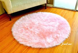 round fur rug rugs for uk white