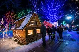 Ogden City Park Christmas Lights Christmas Village Bringing Seasonal Spirit To Ogden