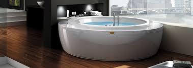 nova corner round corner whirlpol bath header