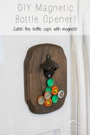 make a diy magnetic bottle opener perfect father s day gift or birthday present and