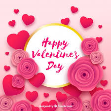 Paper Cut Valentine's Day Vector Free Download Adorable Valentine Day