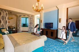 On Suite Bedroom Regal Club 1 2 Bedroom Suites Dubai Atlantis The Palm