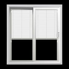 sliding glass door blinds between glass 69 25 x 78 5