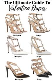 Where To Buy Designer Shoes For Less The Ultimate Guide To Valentino Rockstud Dupes Under 70
