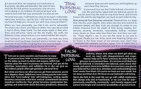 personal love