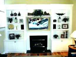 shelf above fireplace modern mantel family room shelves