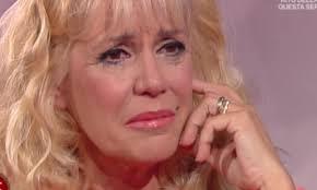 Maria Teresa Ruta in lacrime in tv:
