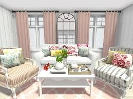 spring decorating ideas living room with fl and trellis pattern home decor