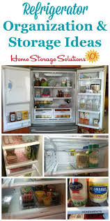 refrigerator organization ideas. real life refrigerator organization and storage ideas {on home solutions 101} i
