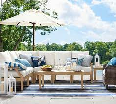 belmont outdoor sectional set pottery