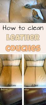 how to clean leather couches mycleaningsolutions