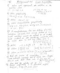 class xi ch 6 linear inequalities maths assign 2017