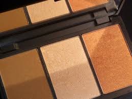 sleek makeup face form contouring and blush palette um 374